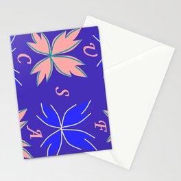 blue-mauve-pink nuances of summer ! Stationery Cards