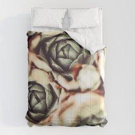DARKSIDE OF SUCCULENTS IX Comforters