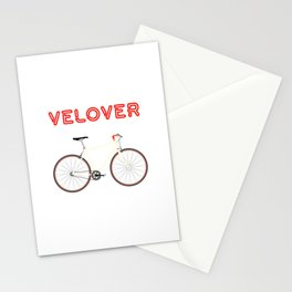 VeLover – Racer – June 12th – 200th Birthday of the Bicycle Stationery Cards