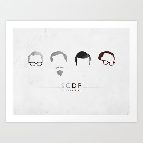 MAD MEN / SCDP Art Print