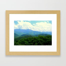 Perfect Weather Framed Art Print