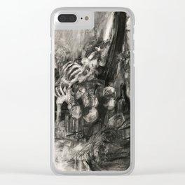 Pile of Innocent Bones Clear iPhone Case