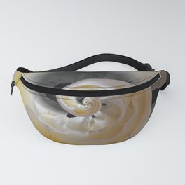 silken whirl abstract 3d digital painting Fanny Pack