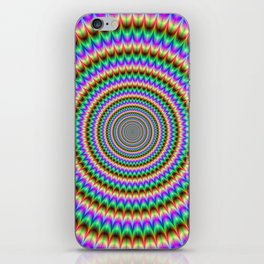 Psychedelic Circles iPhone Skin