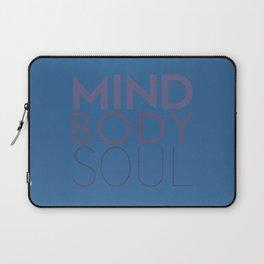Mind, Body, Soul Laptop Sleeve