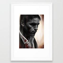 The Devil's Share Framed Art Print