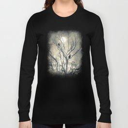 Raven's shelter II  (colour option) Long Sleeve T-shirt