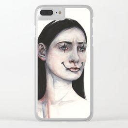 Mime Clear iPhone Case