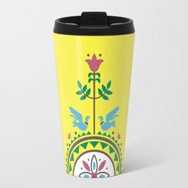 ETHNO BIRDS Travel Mug