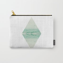 Parallel Waves Carry-All Pouch