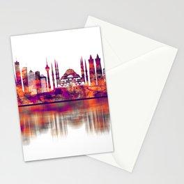 Istanbul Turkey Skyline Stationery Cards