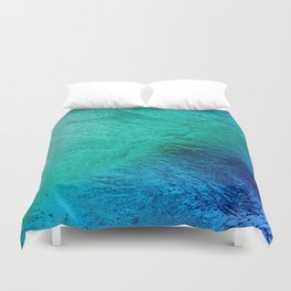 Ocean Sea Water Digital Art  Duvet Cover
