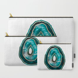 Agate - Turquoise Carry-All Pouch