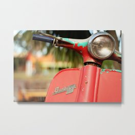 The old scooter - Bambi Metal Print
