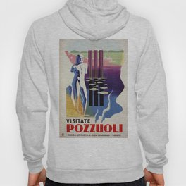 Pozzuoli ancient Greek Roman city Italy travel ad Hoody
