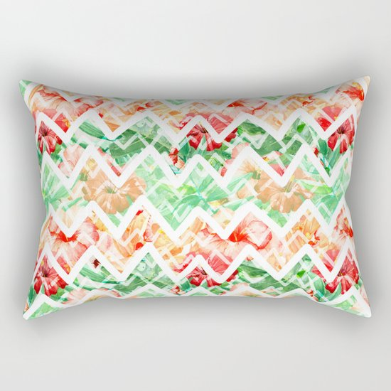 Tropical Summer #18 Rectangular Pillow