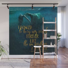 Fear of the Drowning Deep - Bury My Words Wall Mural