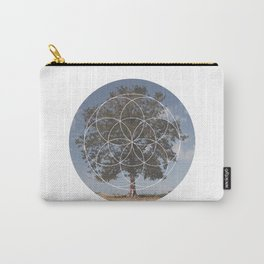 Free Tree Hugs - Geometric Photography Carry-All Pouch