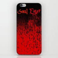 soul eater iPhone & iPod Skins featuring Soul Eater by Deb Adkins
