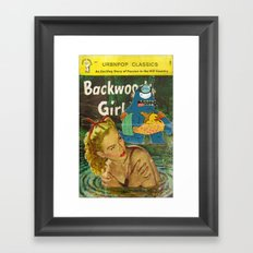 Byron and Backwoods girls Framed Art Print