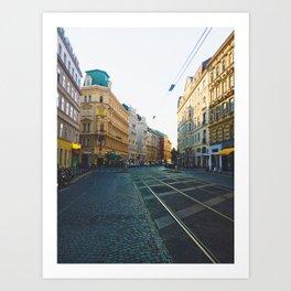 Vienna Street Art Print