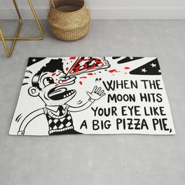 That's amore? That's a problem! Rug