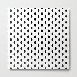 A Simple Repeated Dot Metal Print