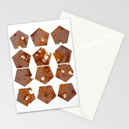 Pentagons of May 12 Stationery Cards