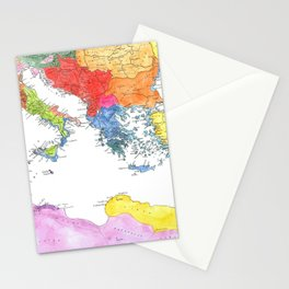 The Ancient Mediterranean Stationery Cards