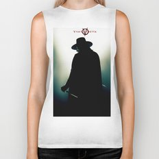 V for Vendetta (e4) Biker Tank