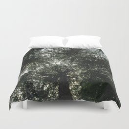 Redwood Canopy in Muir Woods, nature Duvet Cover