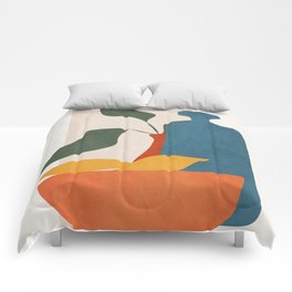 Minimalist Still Life Art Comforters
