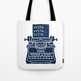 Write Write Write (Space) Tote Bag