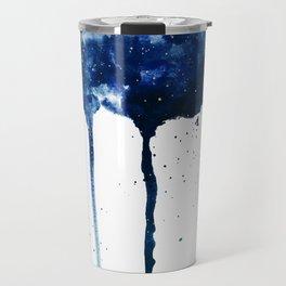 ROYAL BLUE GALAXY SPLASH Travel Mug