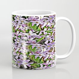 Purple Flowers Galore Coffee Mug