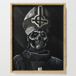 Ghost // Papa Emeritus Serving Tray