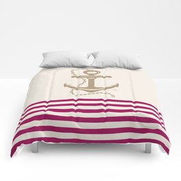 AFE Gold Nautical Anchor Comforters