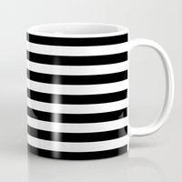 flag Mugs featuring Flag by Stephanie Janeczek