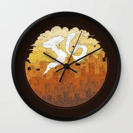 The City - S6 Tee Wall Clock