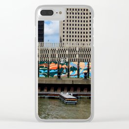 Toledo Waterfront II Clear iPhone Case