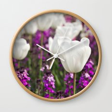 The delicate life Wall Clock