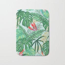 The Tropics ||| #illustration #tropical Bath Mat