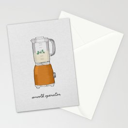 Smooth Operator, Kitchen Print Stationery Cards