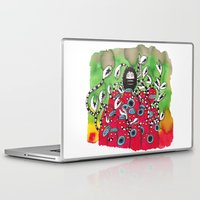 attack on titan Laptop & iPad Skins featuring Attack! by Tyson Bodnarchuk