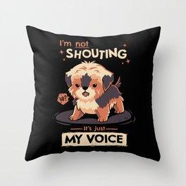 My Voice Throw Pillow