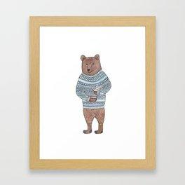 Bearnard Framed Art Print