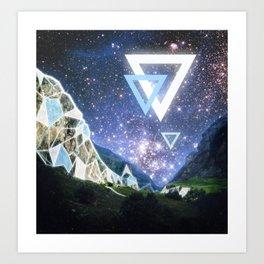 Triangula Art Print