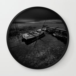 On the wrong side of the lake 7 Wall Clock