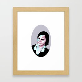 The Muscle Framed Art Print