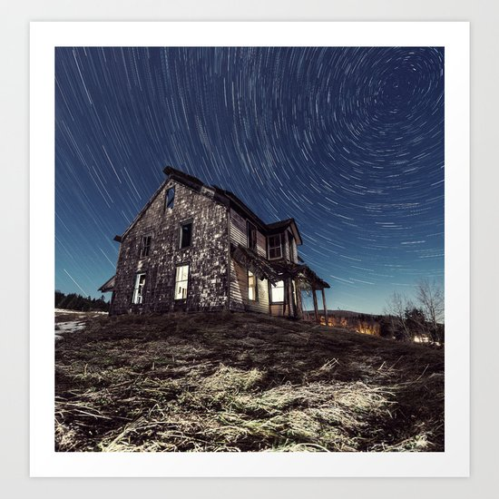 Whirling Abandonment Art Print